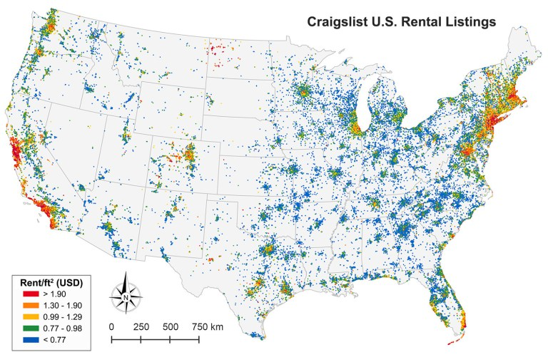 What 11 Million Craigslist Posts Show About Affordable ...