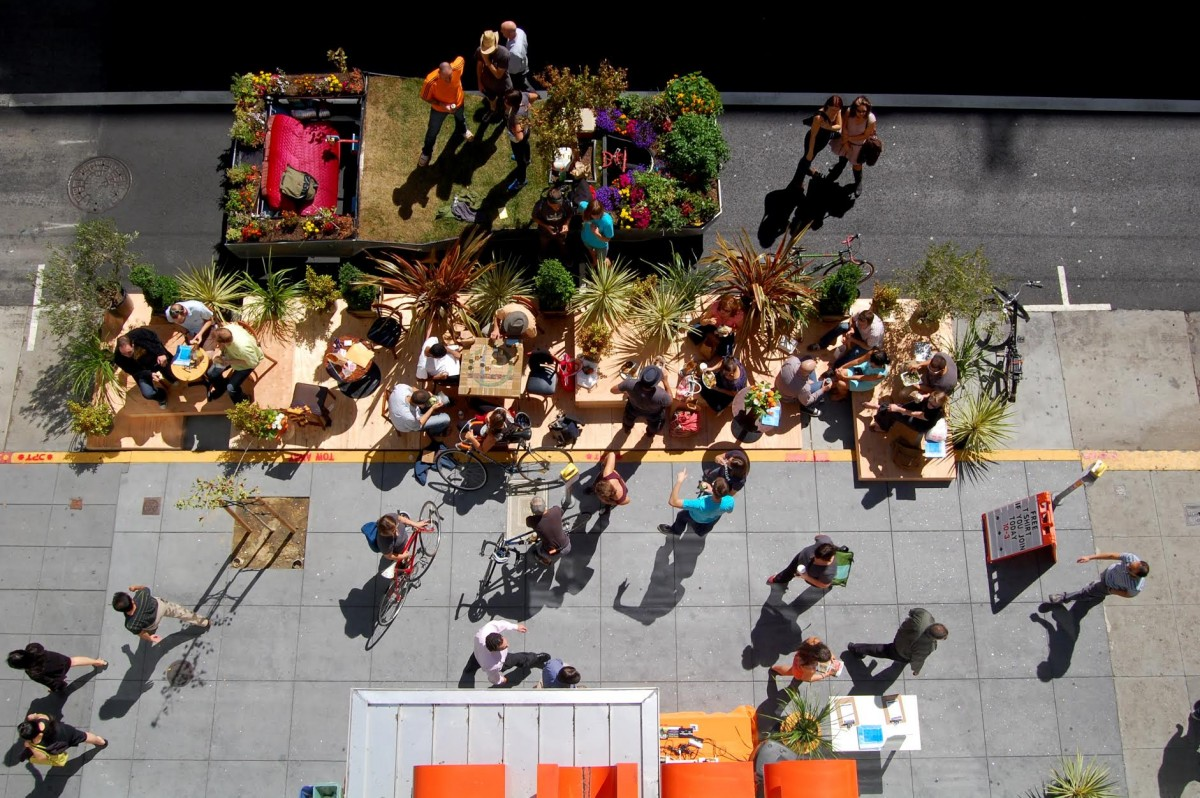 Hacking Public Space With the Designers Who Invented Park(ing) Day