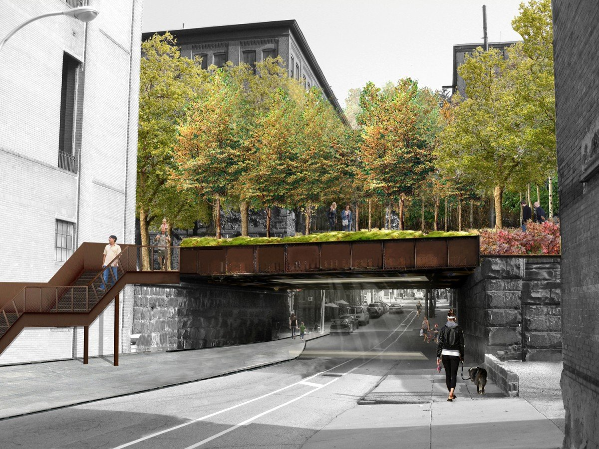 philly breaks ground on its own high line