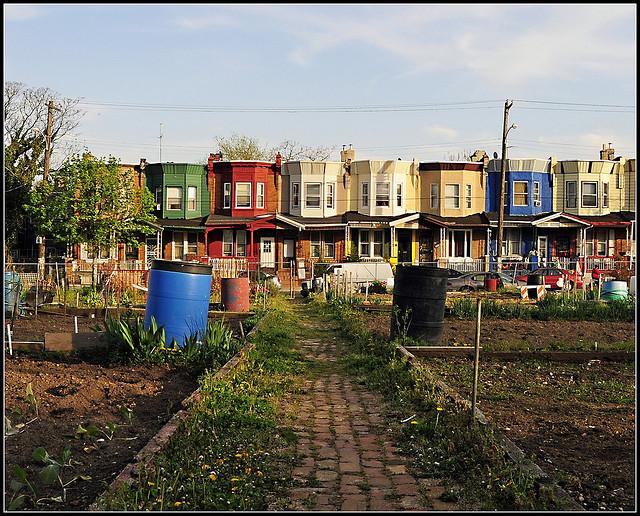 The Urban Garden as Crime Fighter