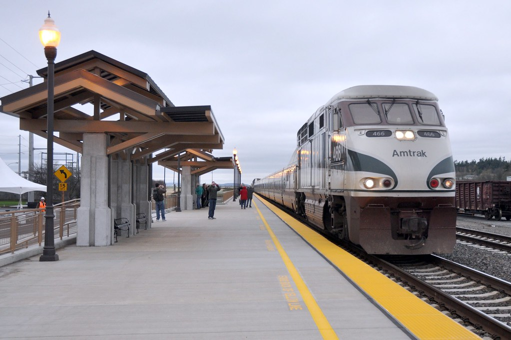 Study Makes Case for High-Speed Rail in Pacific Northwest