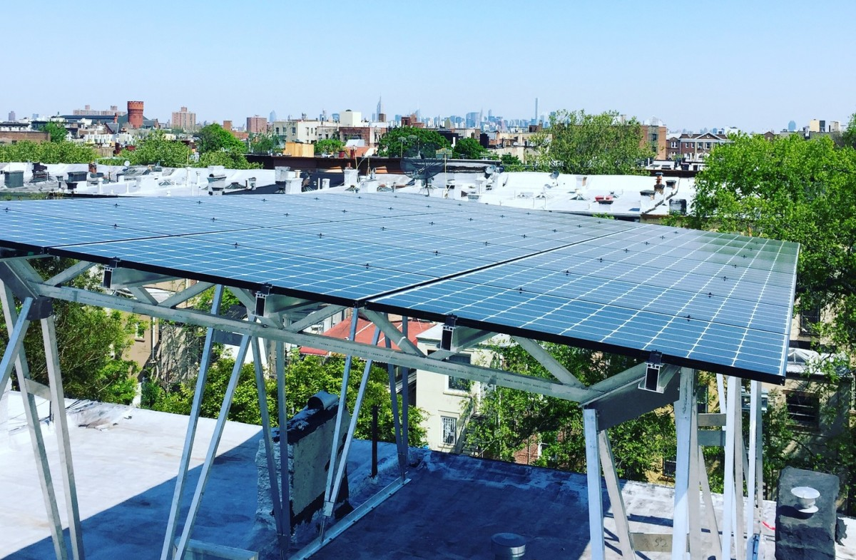 Solar Power Design Is Customizing For The City Rooftop