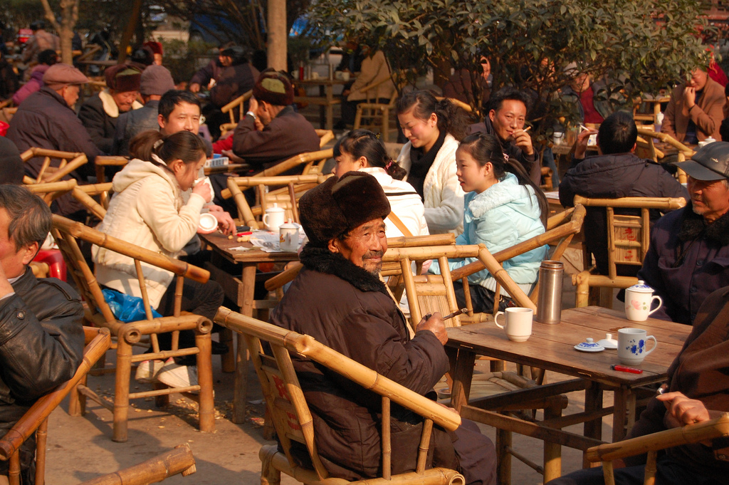 How China S Long Standing Tea Houses Foster Urban