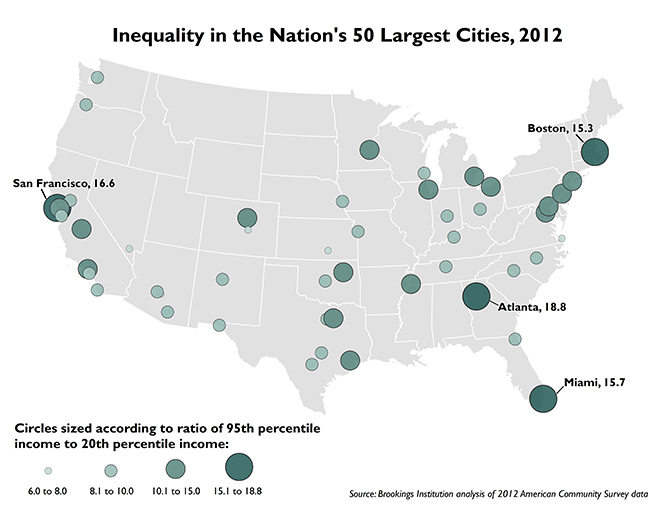 The Many Guises Of Income Inequality Next City