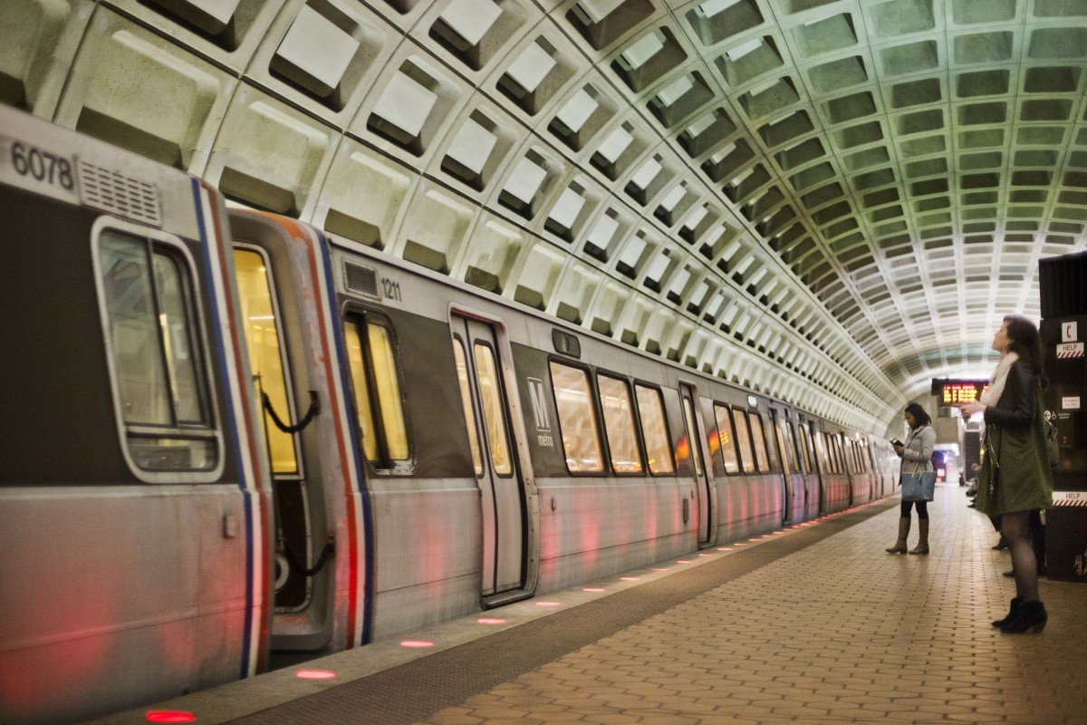 Map Shows How Connected Dc Metro Really Is Next City