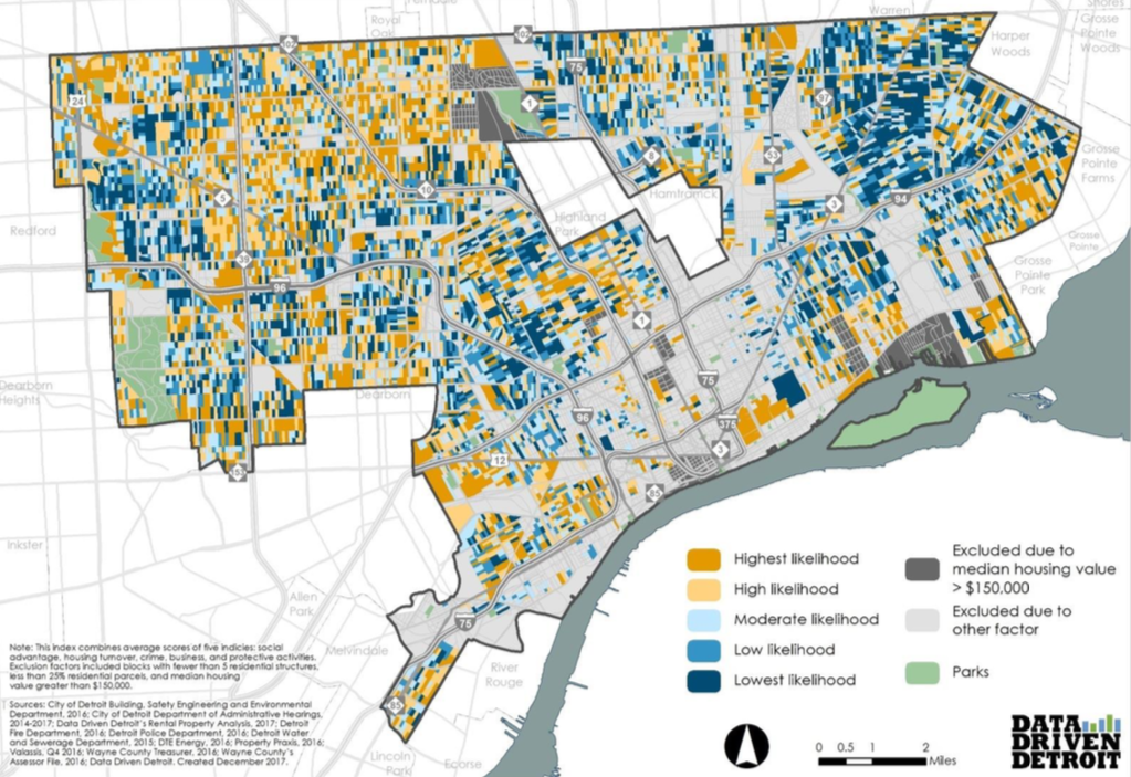 understanding gentrification block by block in detroit  u2013 next city