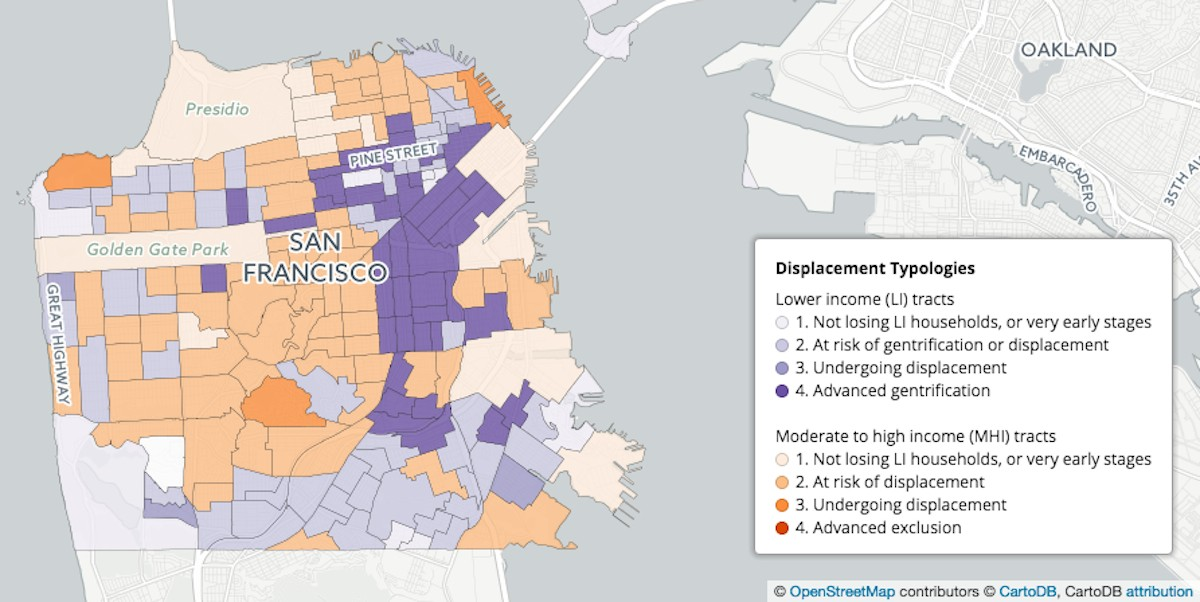 New Map Tool Can Serve As Gentrification Warning System