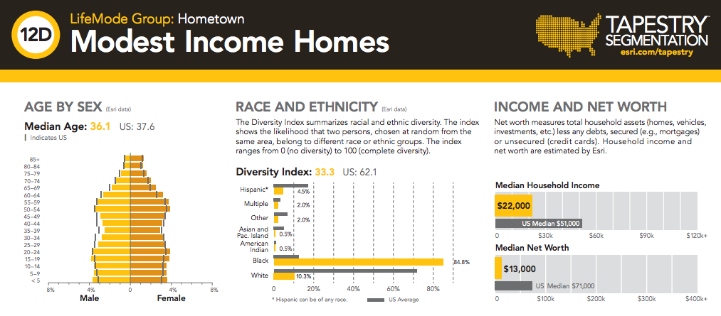 High Income Group House Map : This Is What Marketers Think of You and Your Neighbors – Next City