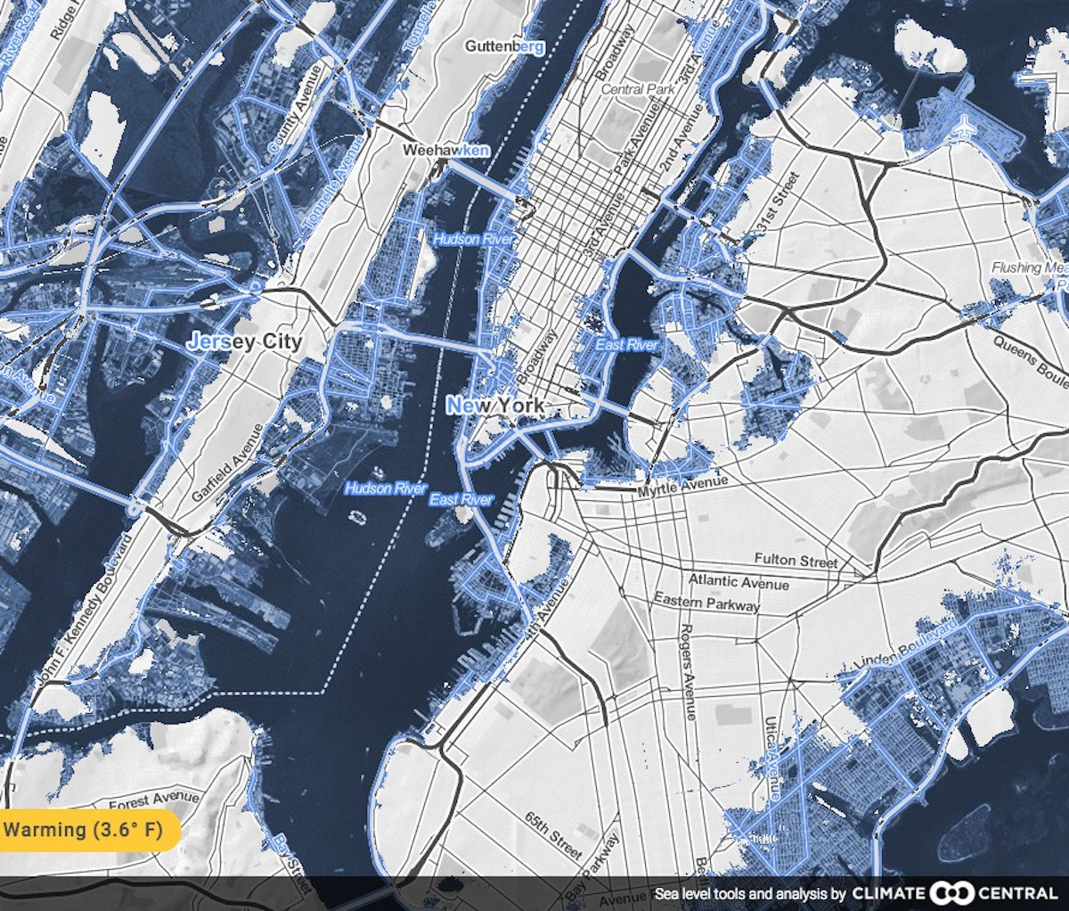 New Maps Show World's Cities Disappearing Under Water
