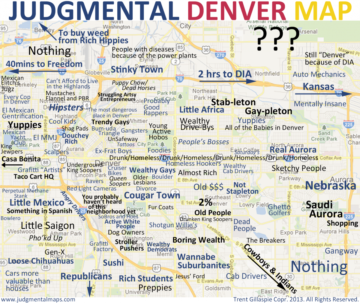 What Goes Into a Judgmental Neighborhood Map – Next City