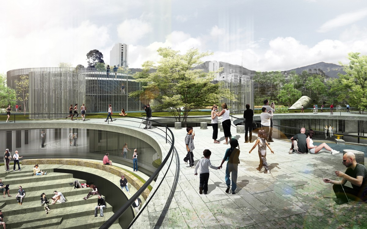 """Medellín's """"City for Life"""" Motto Translates Into Equitable Public Space Design"""