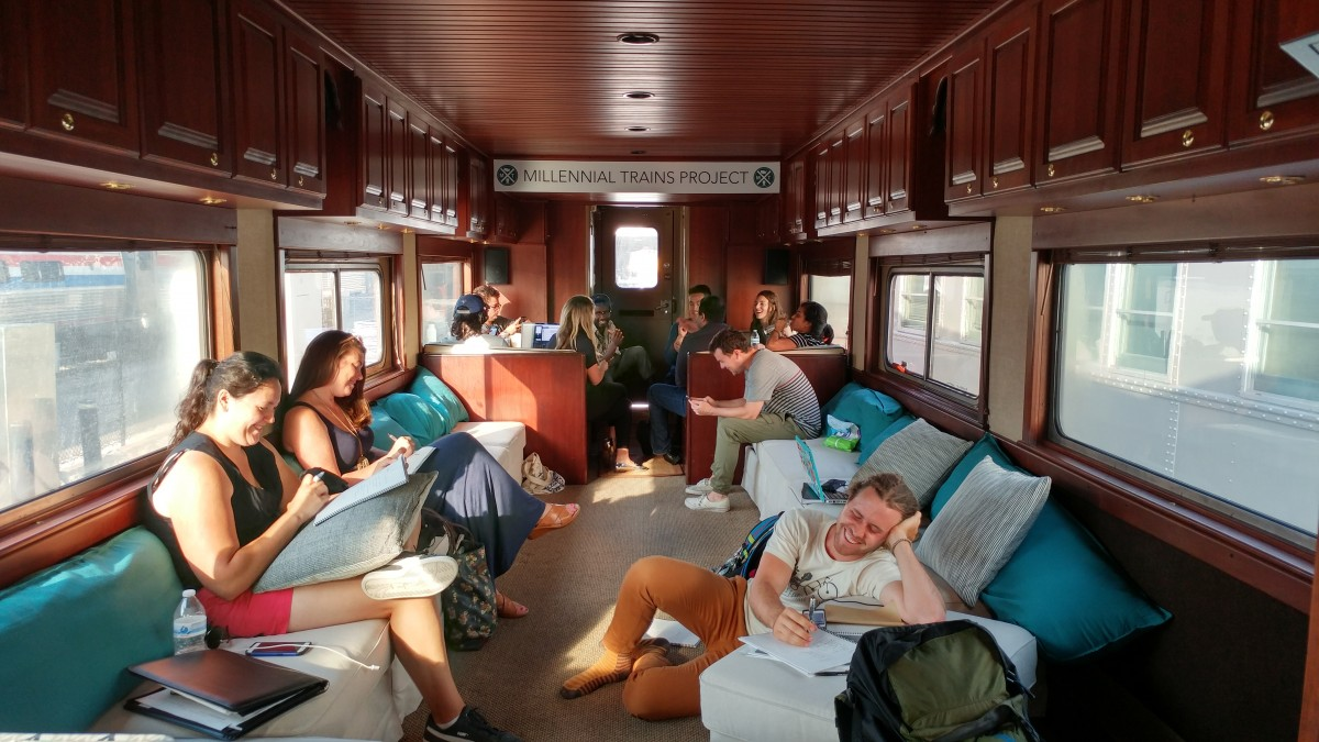 City Changing Train Ride Makes More Cross Country Trips