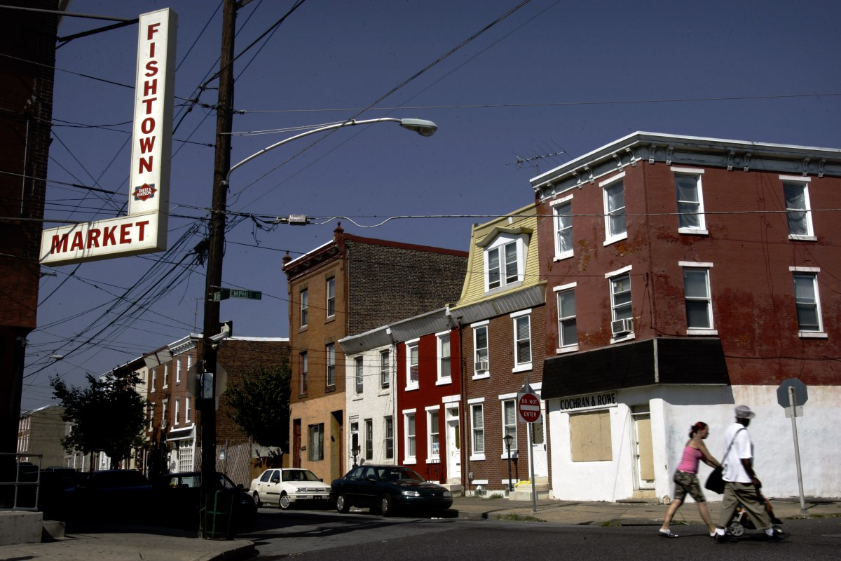 Gentrification isn 39 t the only factor in philadelphia for Fish town philadelphia