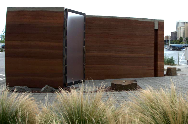 Rammed Earth Fits Into Urban Architecture S Sustainable