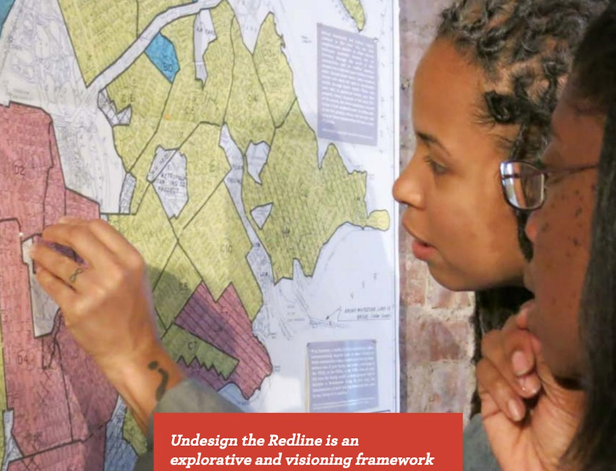 In Boston, Interactive Exhibit Brings Redlining Impact Home