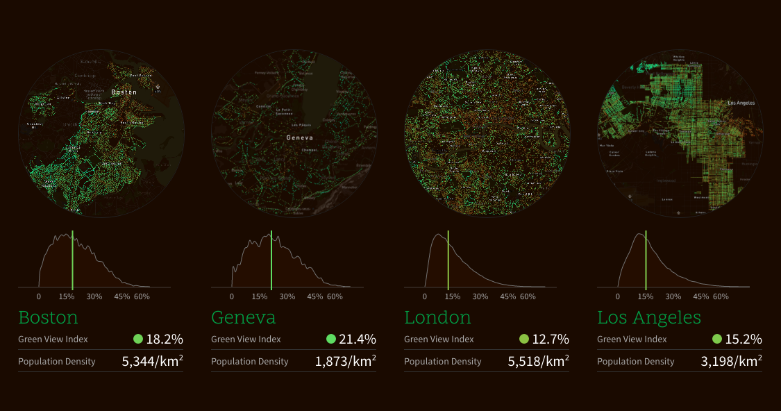 mapping urban trees in 11 cities next city - Green Canopy 2016