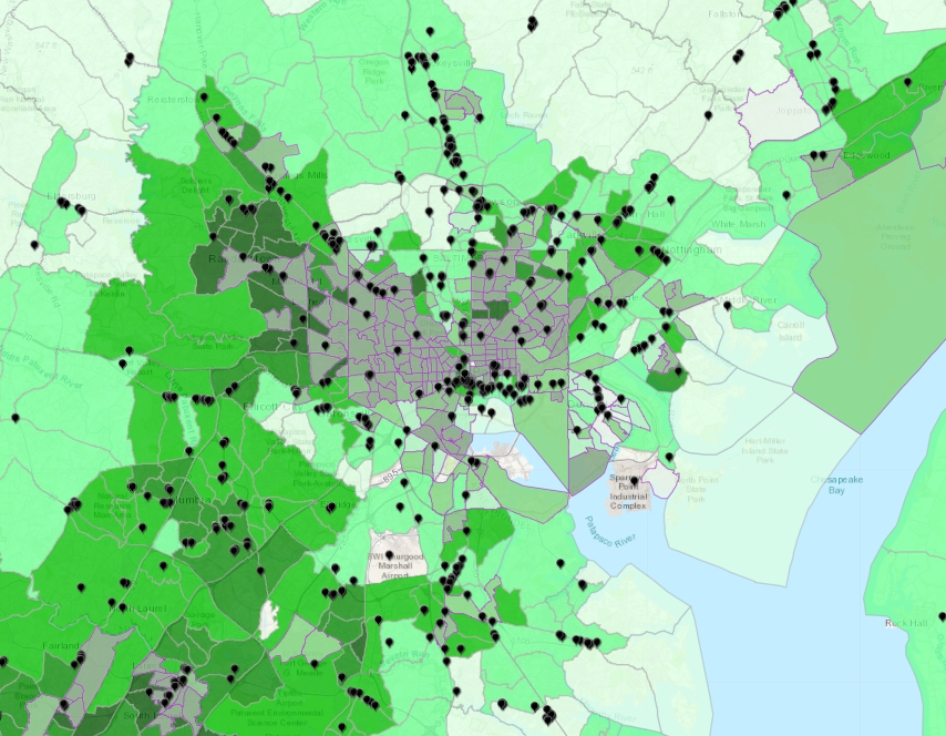 These Maps Show How Uneven The Us Banking System Is Next City - City-map-us