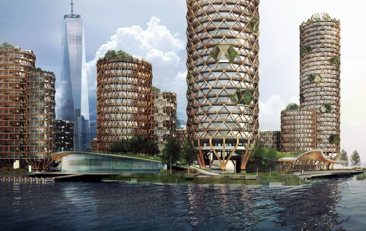 New york architecture firm proposes floating housing for New york architecture firms