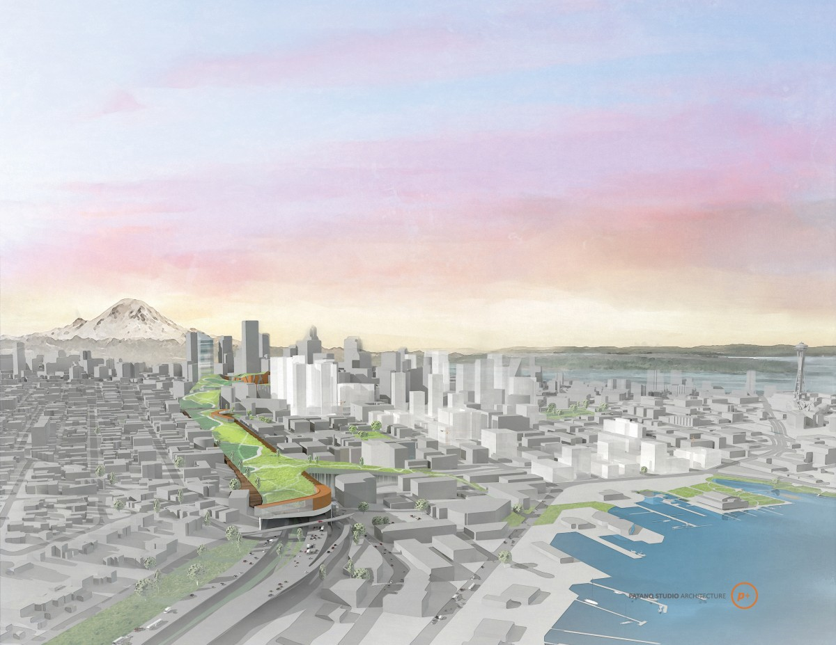 Seattle Architect Says the Time Is Right for This Highway-Capping Park Design