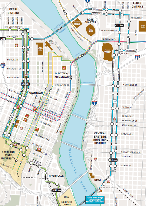 portland street car map When It Comes To Streetcars Zoning Matters A Look At St Louis And Portland Next City portland street car map
