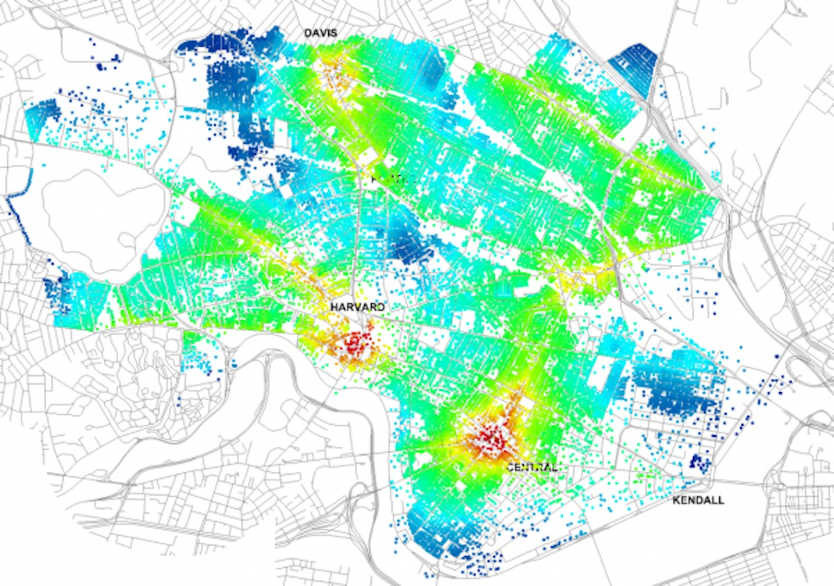 New Mapping Tool Helps Planners Judge Pedestrians Public Space - Free network mapping tool