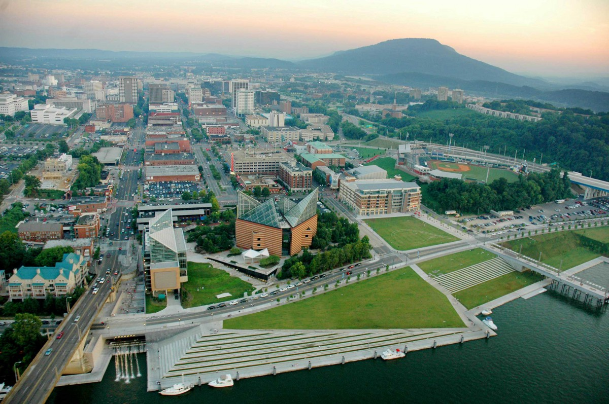Chattanooga Market Connects Innovation District to Low ... Post Industrial Economy