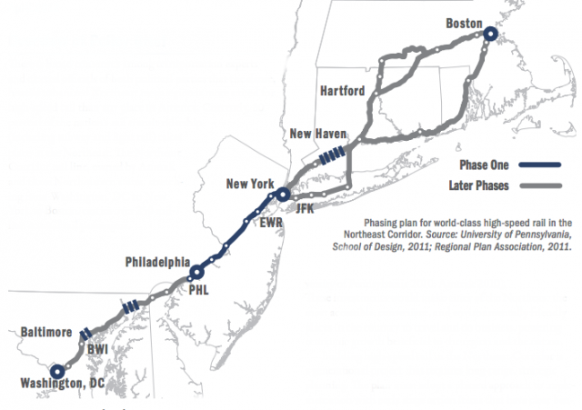 amtrak chooses center for philly high speed rail next city rh nextcity org Northeast Regional Train Coach Northeast Regional Train Seats