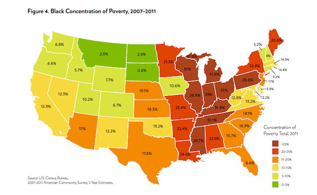 Concentrated Poverty Has Increased By Percent Since Next - Where is poverty the worst in the world