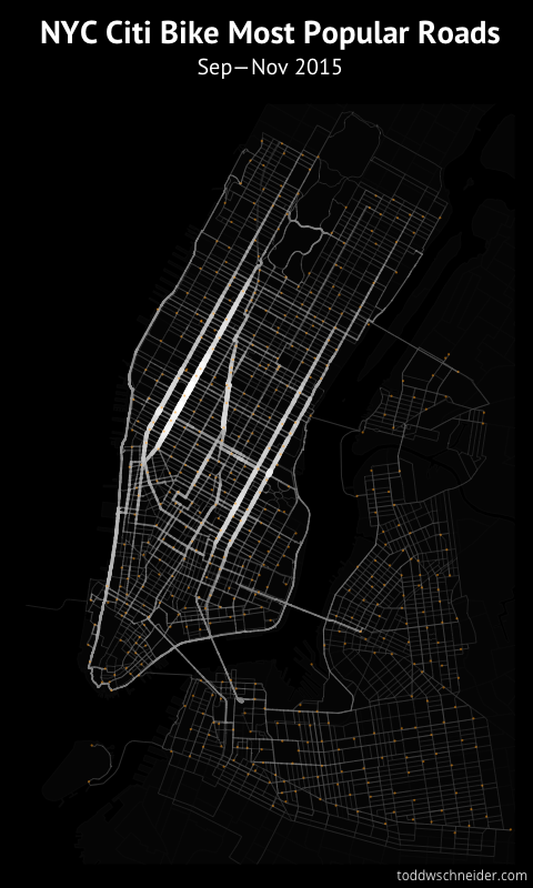 What 22 Million Rides Tell Us About NYC Bike-Share – Next City City Bike New York Map on
