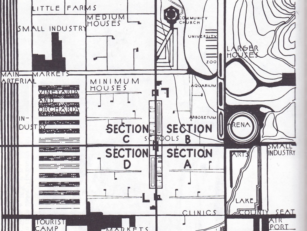 nyc zoning maps with Frank Lloyd Wrights Utopian Dystopia on Zoning Maps also 2 further 150 East 84 Street New york also 861283 Se Cities Grid Pattern Layout likewise Serving Cities.