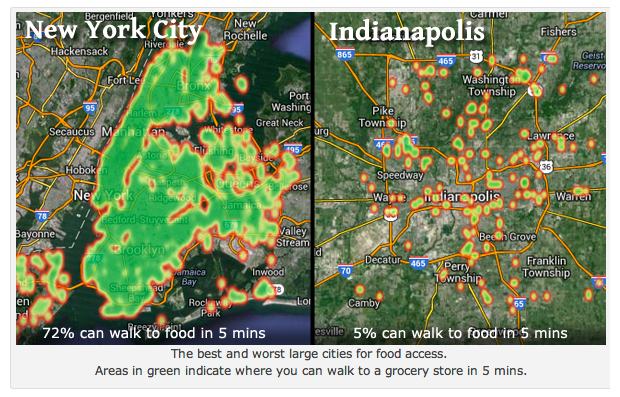 What Walk Scores Food Desert Map Misses About Food Access Next City - Us food desert map