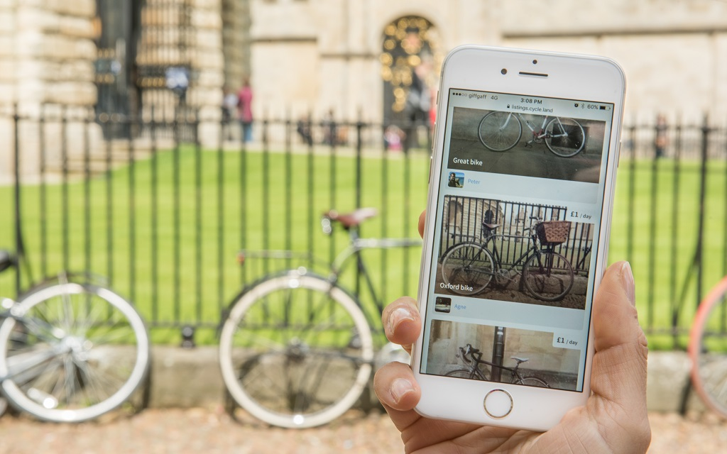Airbnb-Style Bike-Renting App Expands to London