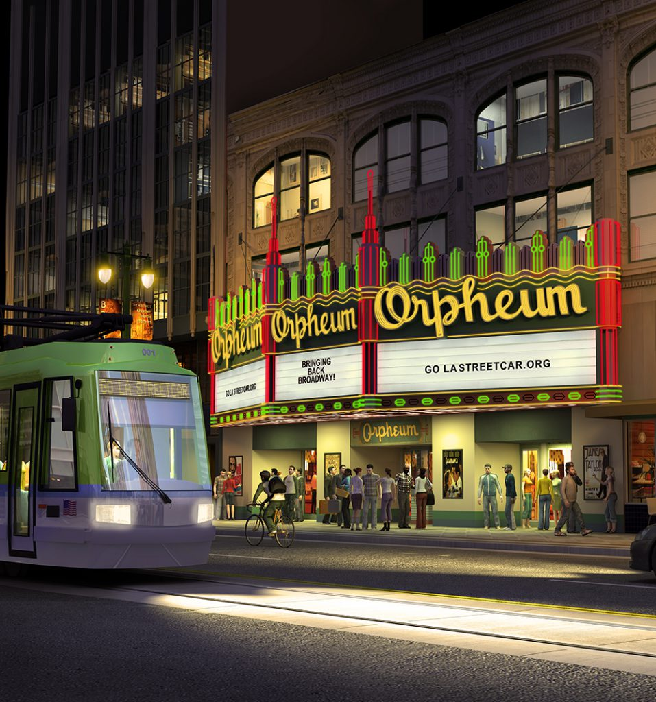 L.A. Streetcar Takes Another Step Toward 2020 Comeback