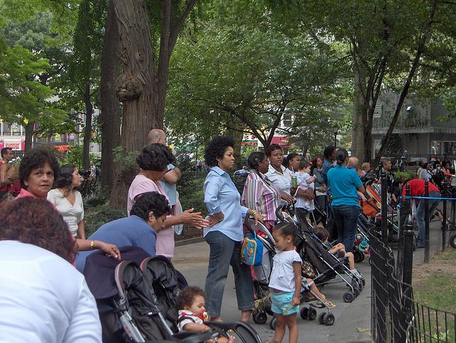 Stroller Surveillance Race Class And New York City Nannies Next City