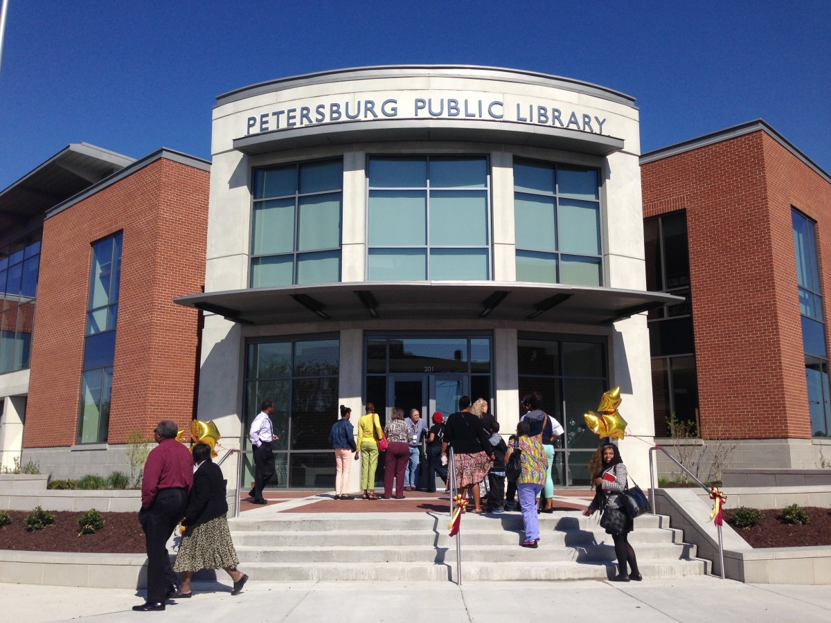 How A Virginia City Came Together To Build A New Library