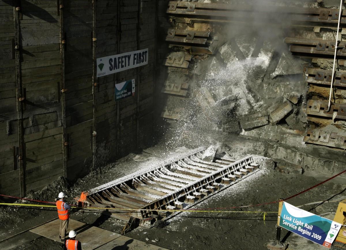 Seattle Hits Another Milestone On Light Rail Tunnel