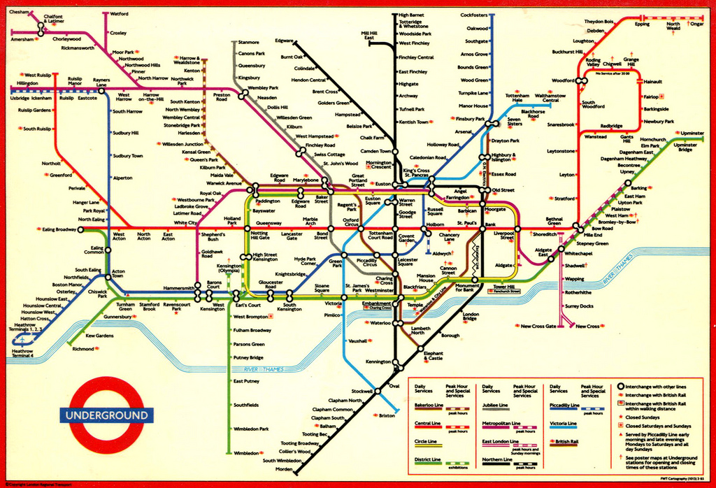 Olympic Effort To Make London's Underground Ready For The Games: London Subway System Map At Infoasik.co
