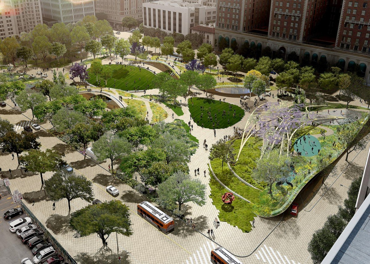 4 Finalist Designs Revealed For Big Overhaul Of L A