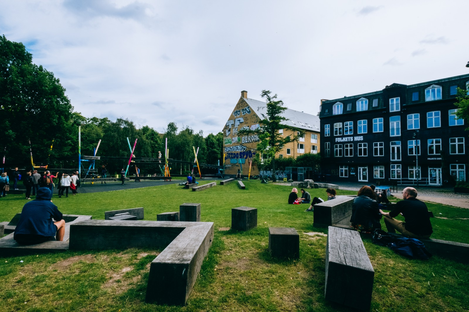 In Copenhagen A People S Park Design Includes