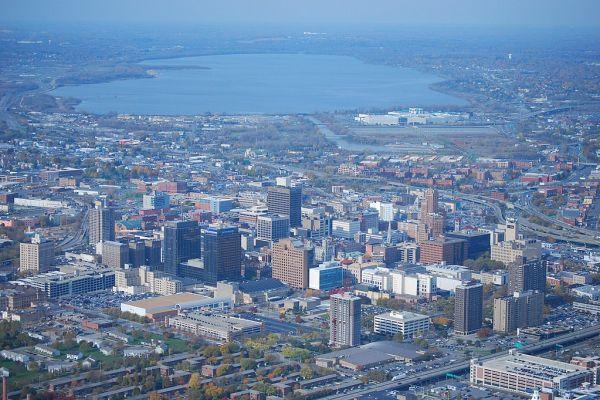 Syracuse, New Yrok from above