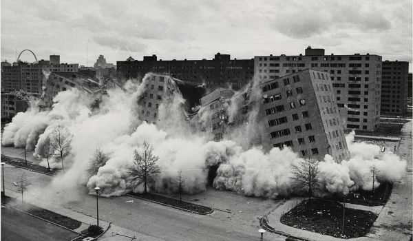 Pruitt-Igoe demolition