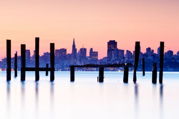 San Francisco at sunrise