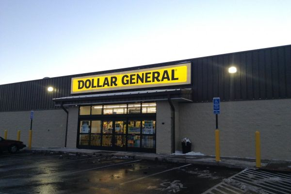 A Dollar General store in Connecticut