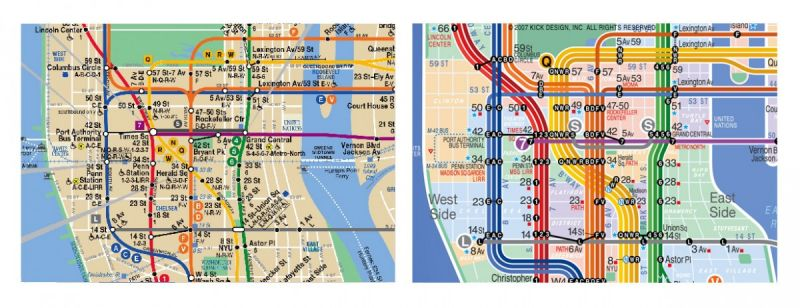Subway Map Manhattan New York.7 Alternate Versions Of The New York City Subway Map Next City
