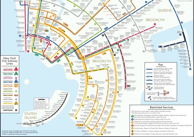 7 Alternate Versions Of The New York City Subway Map Next City