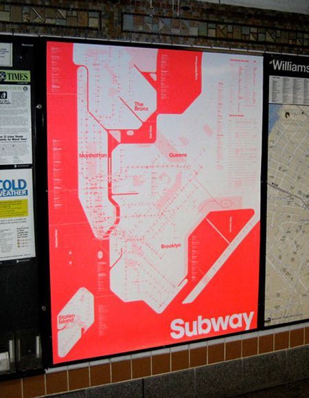 Alternative Nyc Subway Map.7 Alternate Versions Of The New York City Subway Map Next City