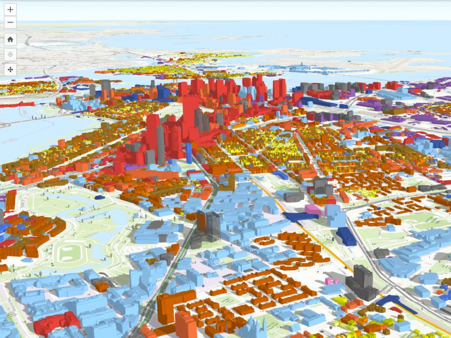 Paint The Town With Data In Bostons New 3d Model Next City