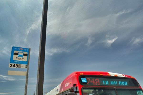 Bus in Salt Lake City