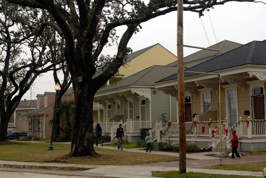 10 years after katrina new orleans public housing still River garden apartments new orleans