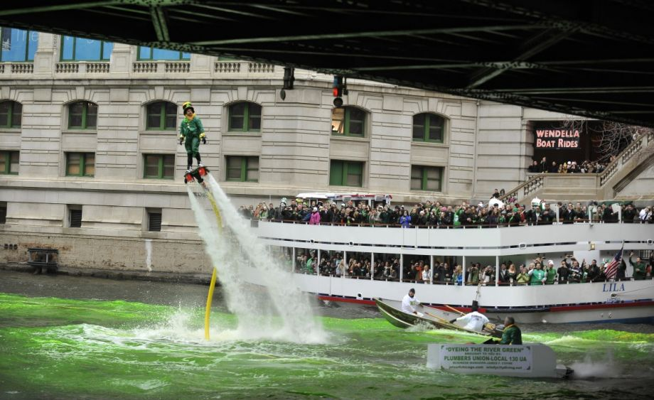 How And Why The Chicago River Is Dyed Green For St